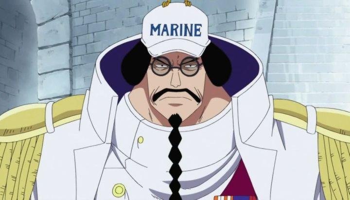 Potret Sengoku ketika masih menjadi Fleet Admiral