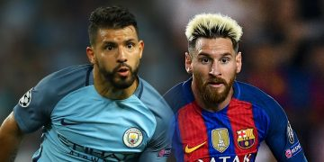 Alasan Aguero Akan Wujudkan Mimpi Satu Klub dengan Messi 13