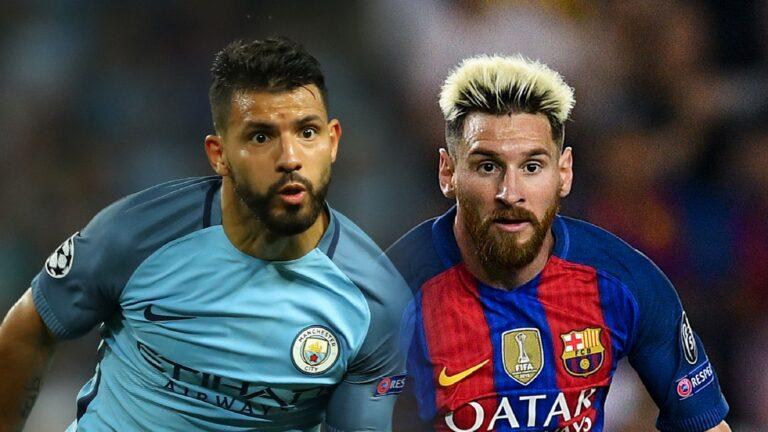 Alasan Aguero Akan Wujudkan Mimpi Satu Klub dengan Messi 1