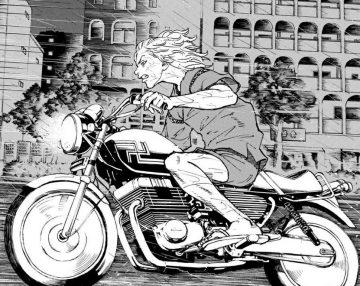 7 Motor Kesayangan Pendiri Toman di Tokyo Revengers 25