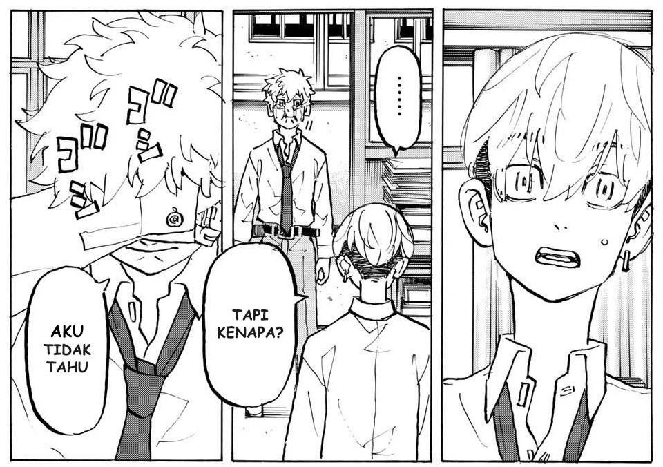 Chifuyu Mengetahui Rahasia Takemichi