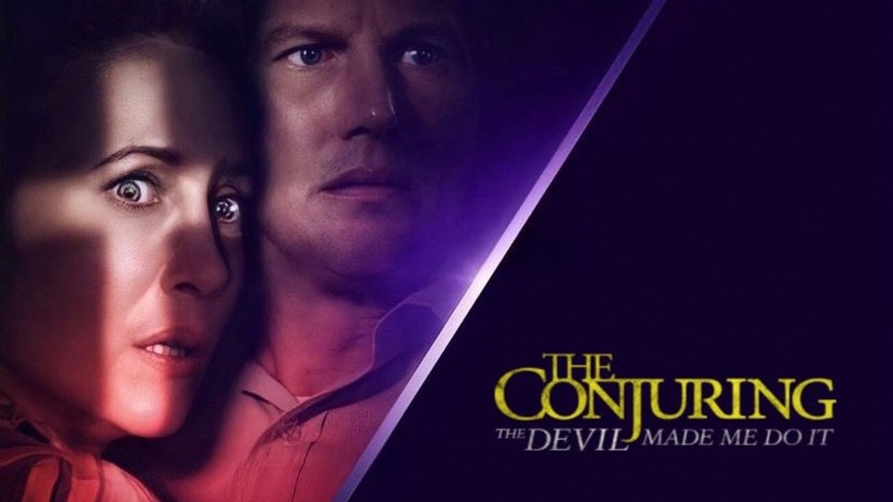 Poster Film The Counjuring: The Devil Made Me Do It