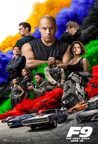 Poster Film Fast & Furious 9