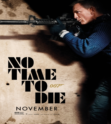 Poster Film No Time To Die