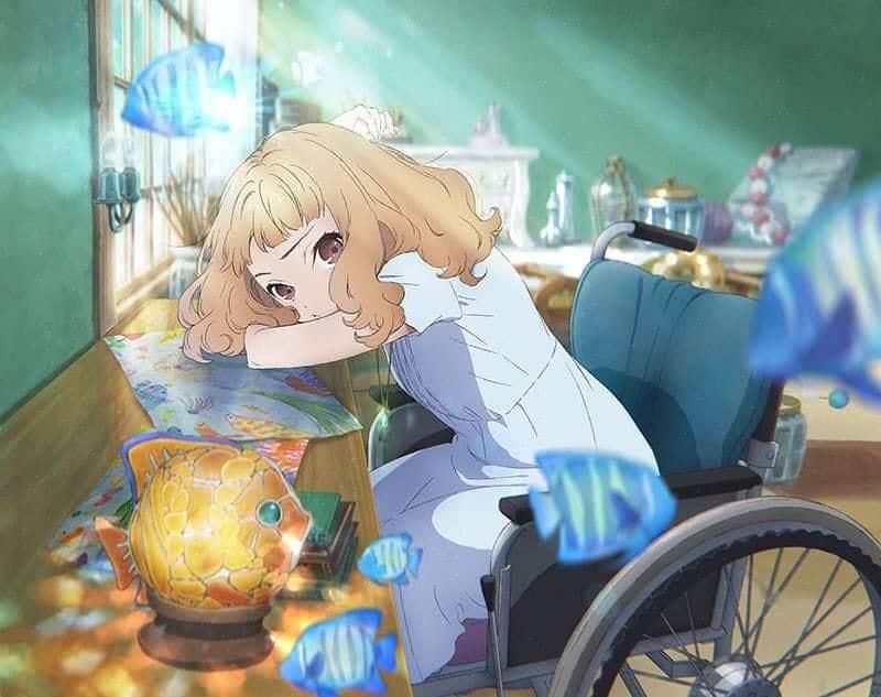 Josee di kursi roda