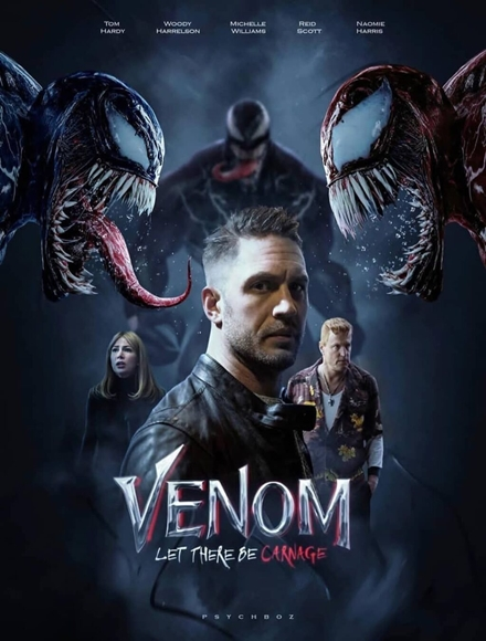 Poster Film Venom: Let There Be Carnage