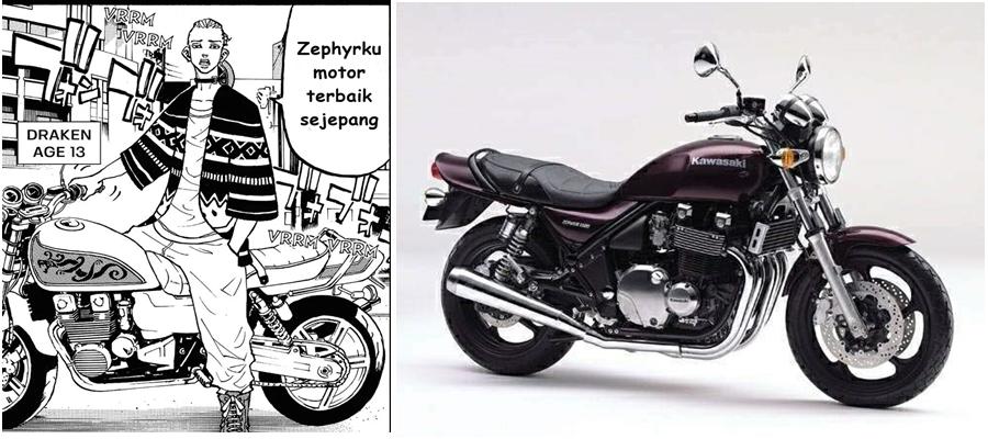 Motor Draken Zephyr