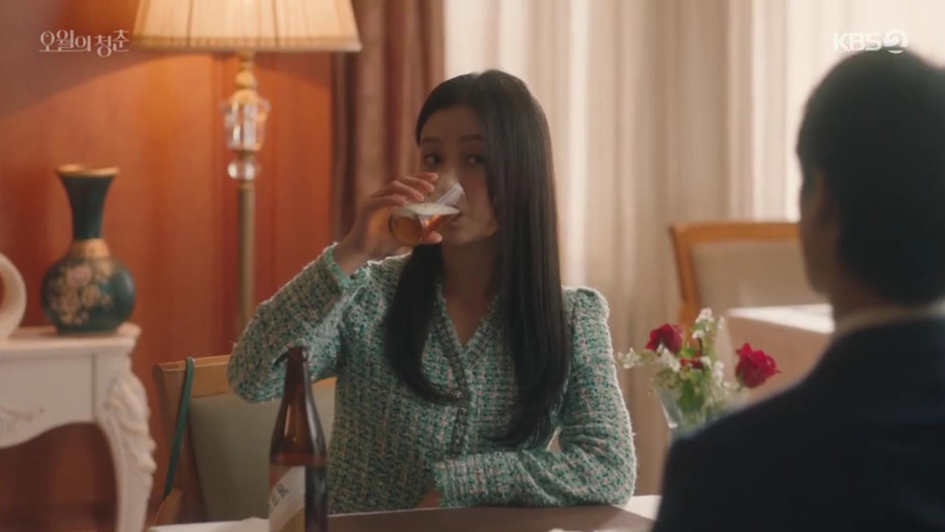 Myung-Hee Menenggak Bir di Kencan Pertama