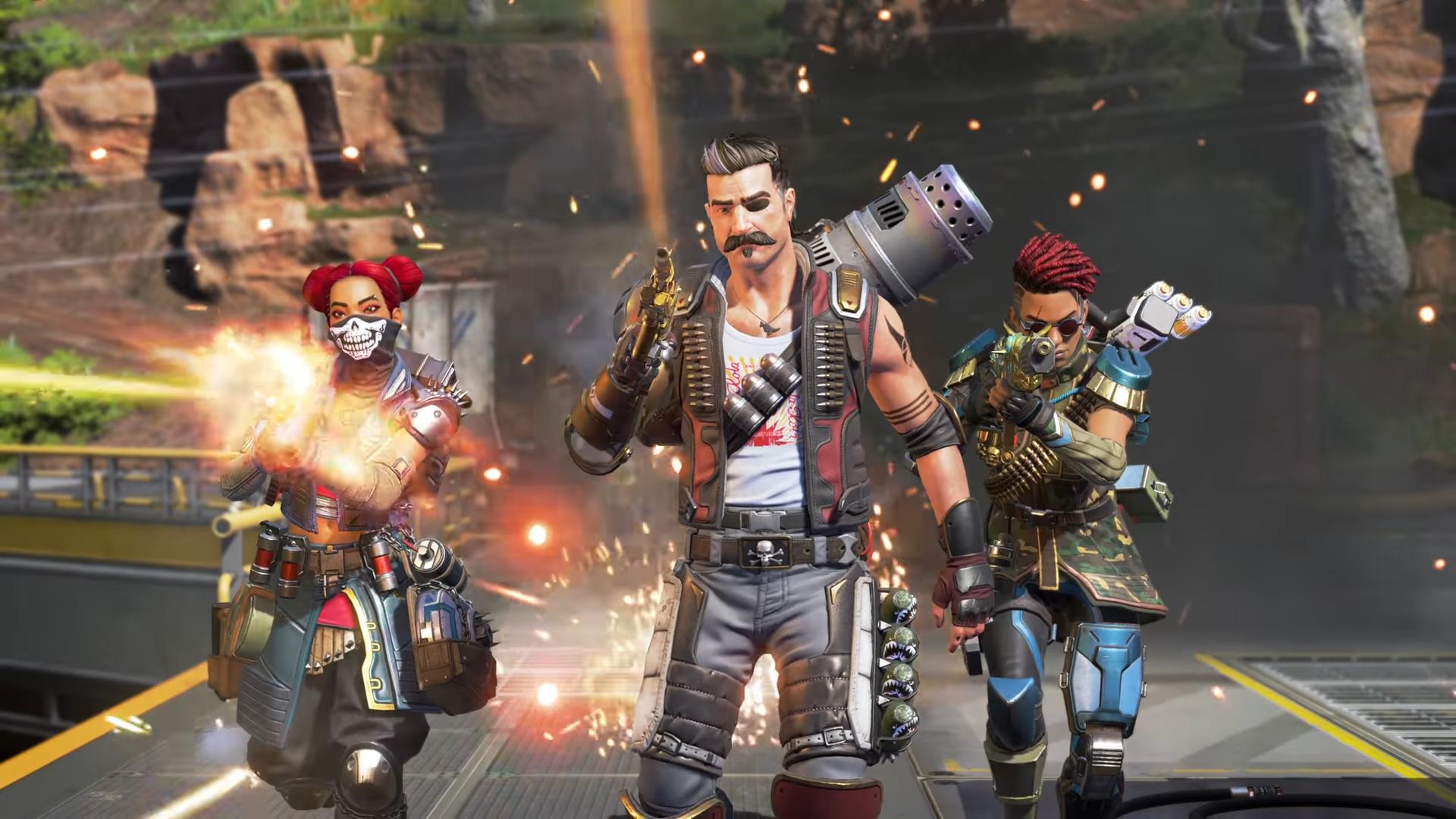 Permainan battle royale yang membutuhkan 3 pemain dalam satu tim, Apex Legends Foto: Electronic Arts