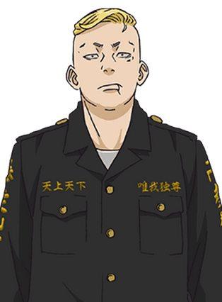 Haruki Hayashida, kapten divisi ketiga Tokyo Manji