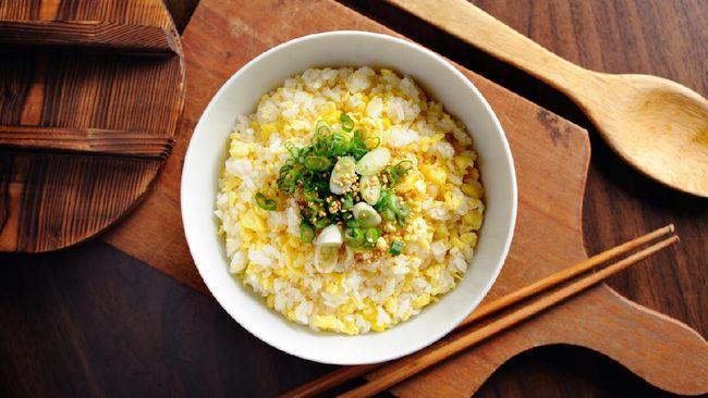 Resep nasi telur ala Korea berbahan Indonesia 1