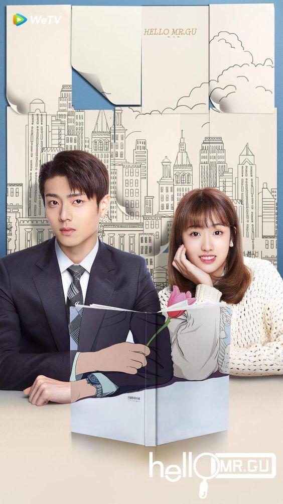 Hello Mr.Gu Drama China Romantis tentang CEO dingin namun perhatian 3