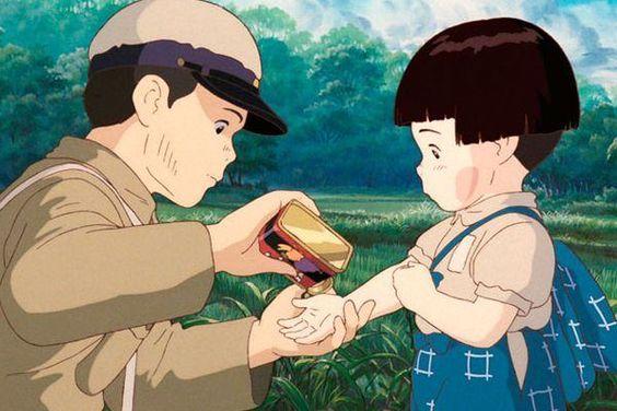Grave of the Fireflies (Hotaru No Haka), Anime tersedih sepanjang masa 2