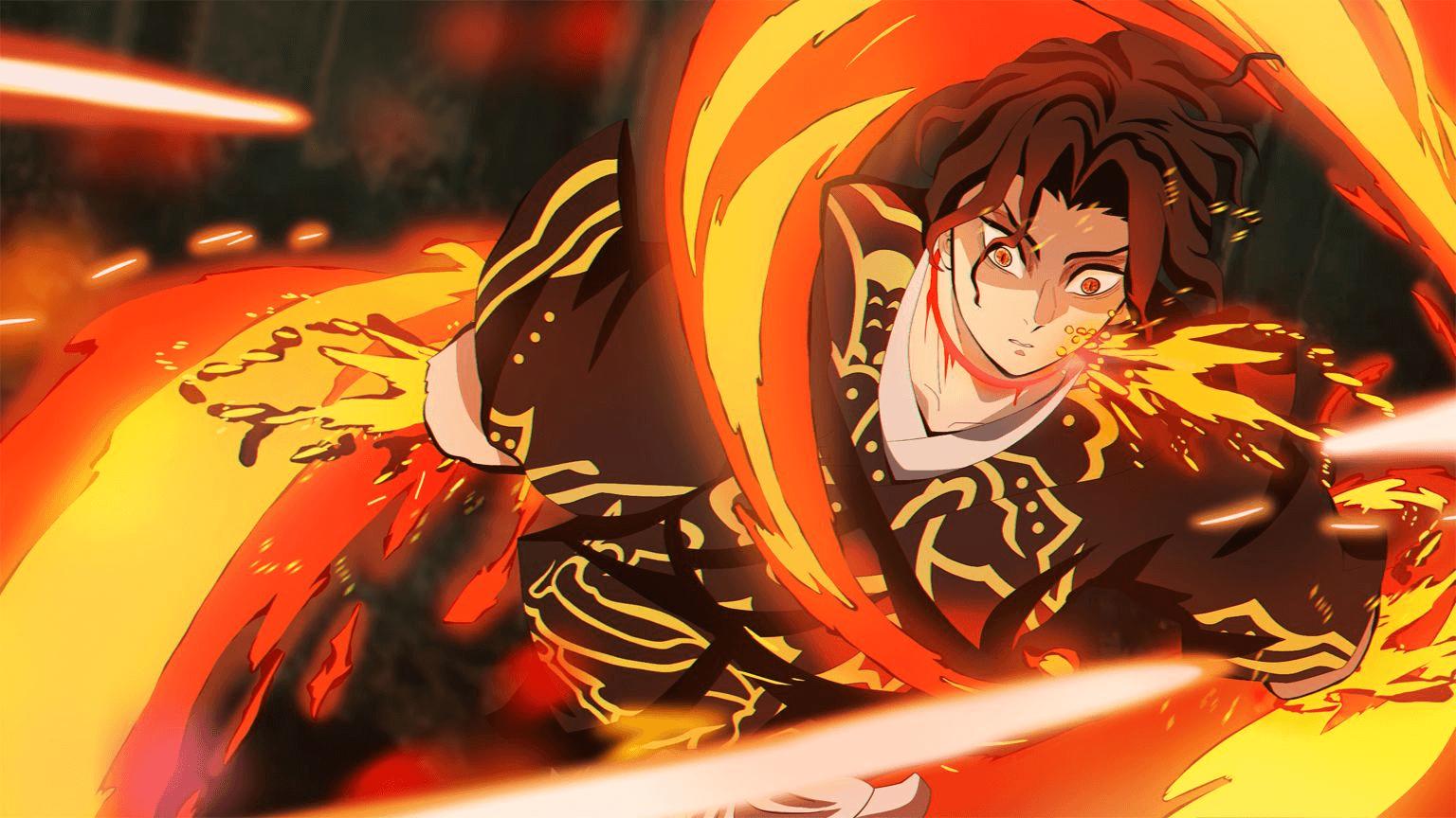 Yoriichi Mengalahkan Muzan