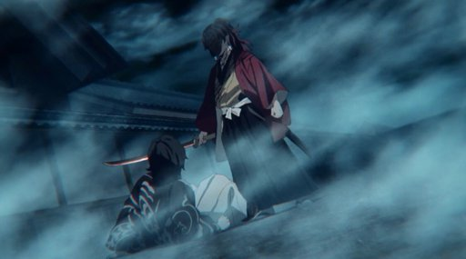 Yoriichi saat melawan Muzan