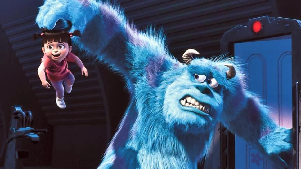Salah satu adegan dalam film Monster Inc. (dok. pinterest)