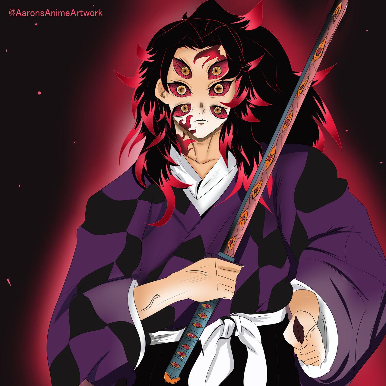 Kokushibo (Upper Moon 1), salah satu karakter terkuat di Demon Slayer