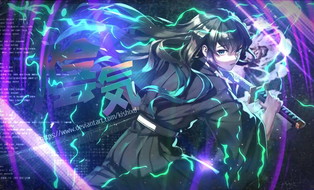 Muichiro Tokito, Pilar Pernafasan Kabut. Sumber: deviantart.com