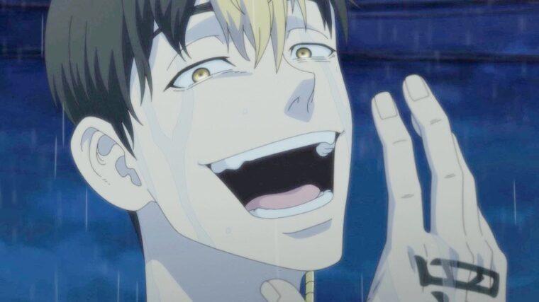 Anime tokyo revengers episode 10 : Shuji Hanma tertawa