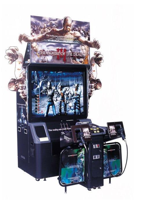Mesin arcade House of the Dead 3