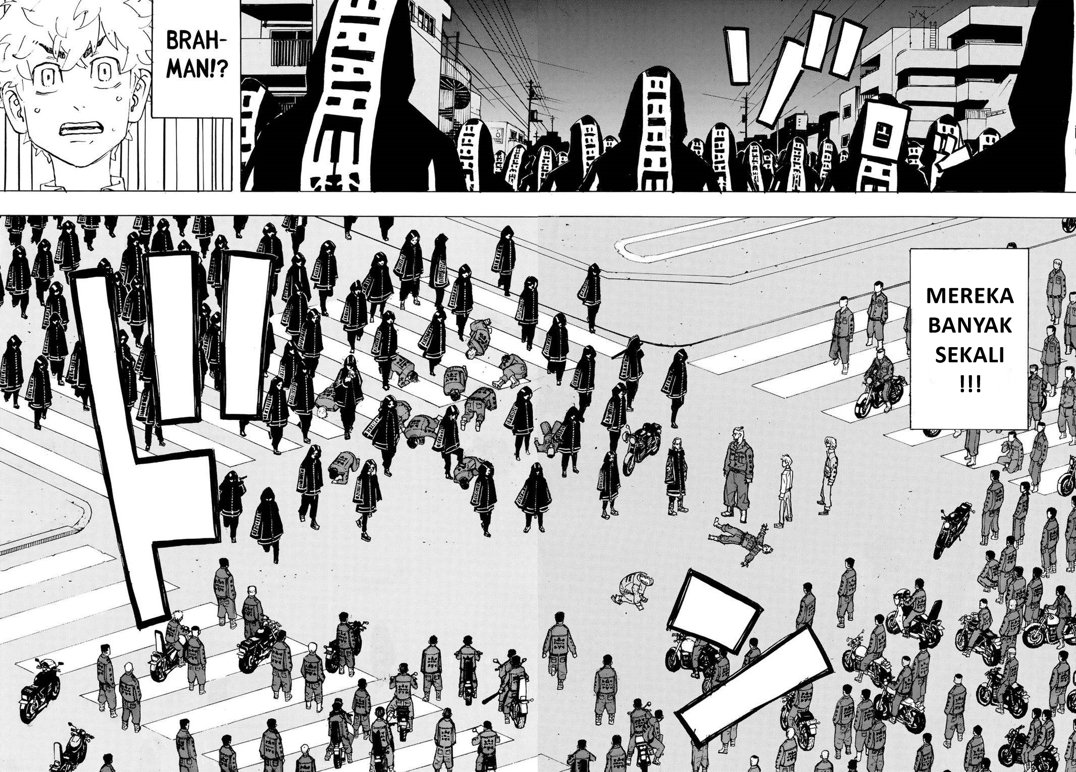 Manga tokyo revengers chapter 211 bahasa indonesia: geng brahman dan geng rokuhara tandai