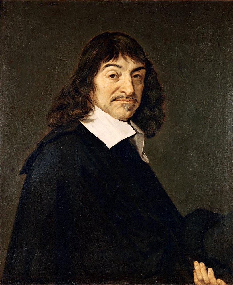 LukisanRené Descartes karya pelukis Belanda Frans Hals. Sumber gambar: wikimedia.org