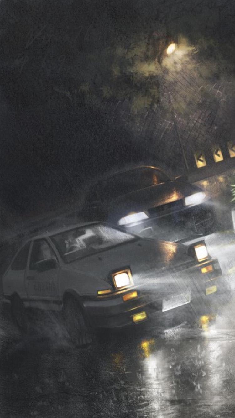 Initial D anime keren tentang drifting 3