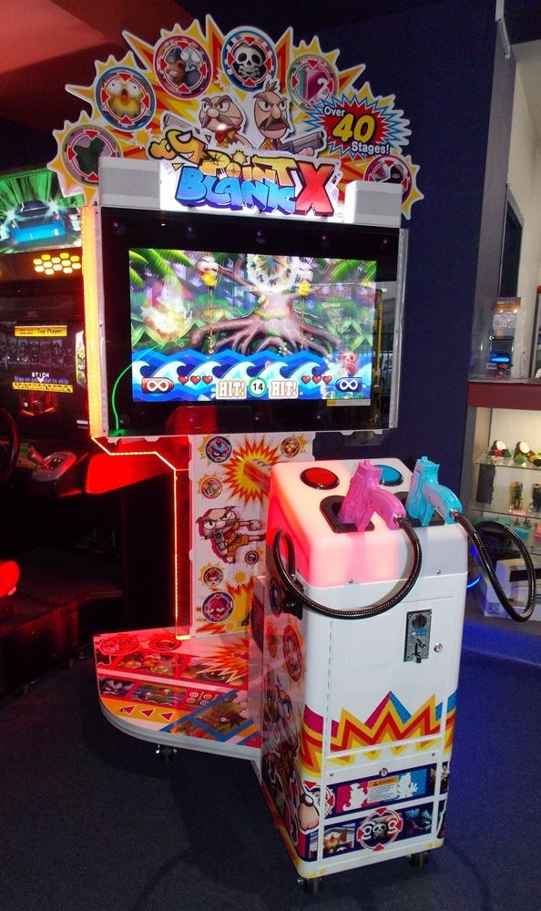 Mesin arcade Point Blank
