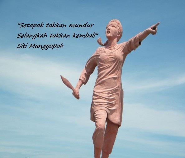 Tugu Mandeh Siti Manggopoh di Lubuk Basung