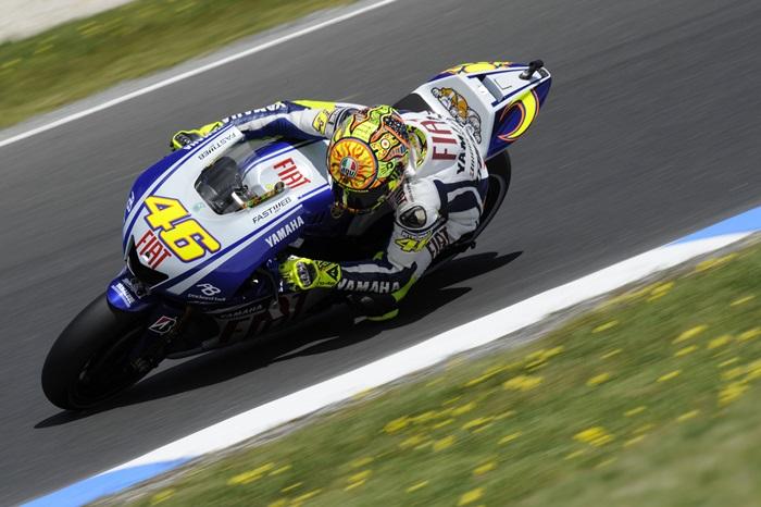 Valentino Rossi pada tahun 2009