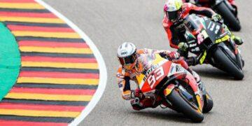 Marc Marquez Kembali menjadi Raja Sirkuit Sachsenring 4