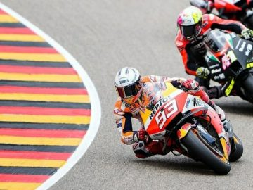 Marc Marquez Kembali menjadi Raja Sirkuit Sachsenring 5