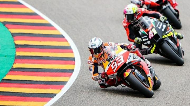 Marc Marquez Kembali menjadi Raja Sirkuit Sachsenring 1