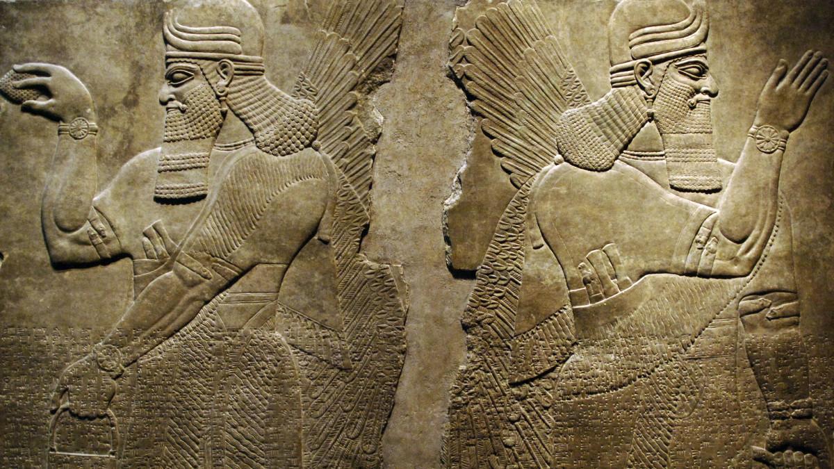 Marduk, dewa tertinggi Babilonia (Sumber: www.history.com)