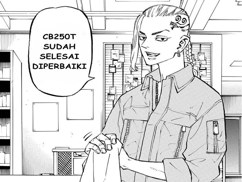 Manga tokyo revengers chapter 210 bahasa indonesia : Draken kerja di bengkel sepeda