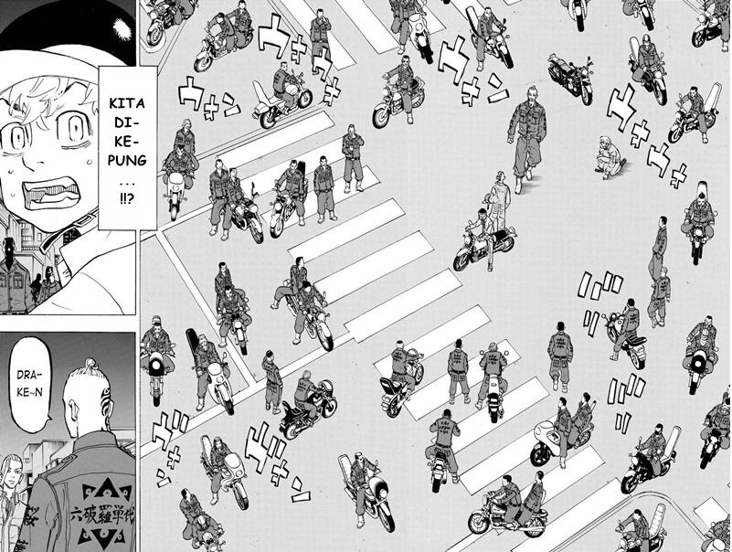 Manga tokyo revengers chapter 210 bahasa indonesia : Geng Rokuhara Tandai