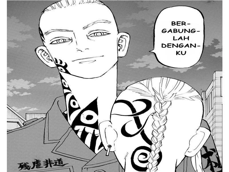 Manga tokyo revengers chapter 210 bahasa indonesia : Terano dan Draken