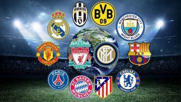 Daftar 8 Klub Terbaik Dunia Berdasarkan Rangking FIFA per 27 Juni 2021 9