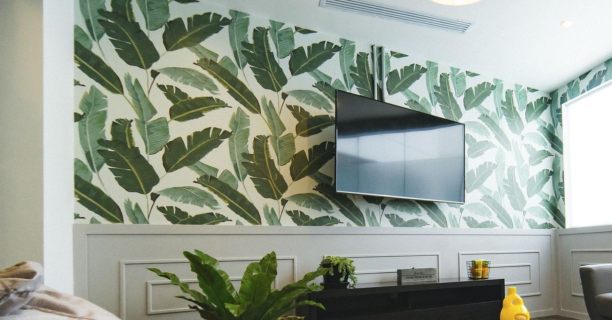Ilustrasi tampilan dinding kamar yang telah dihias. (Pixabay.com)