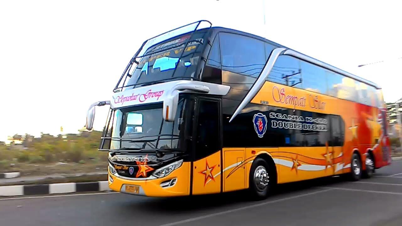 Mengenal Bus Double Decker Atau Bus Tingkat dan Kelebihannya 3