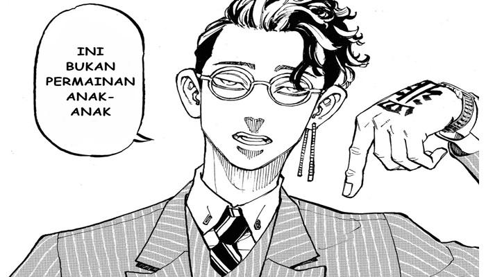 Manga tokyo revengers chapter 71 bahasa indonesia : Hanma Shuji dewasa