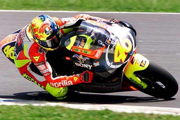 Valentino Rossi di kelas 250cc (1998-1999)