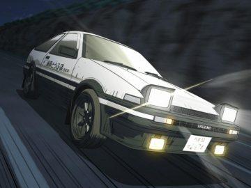 Initial D anime keren tentang drifting 9