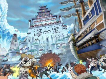 6 Main Arc dari One Piece Pra-Time Skip 12
