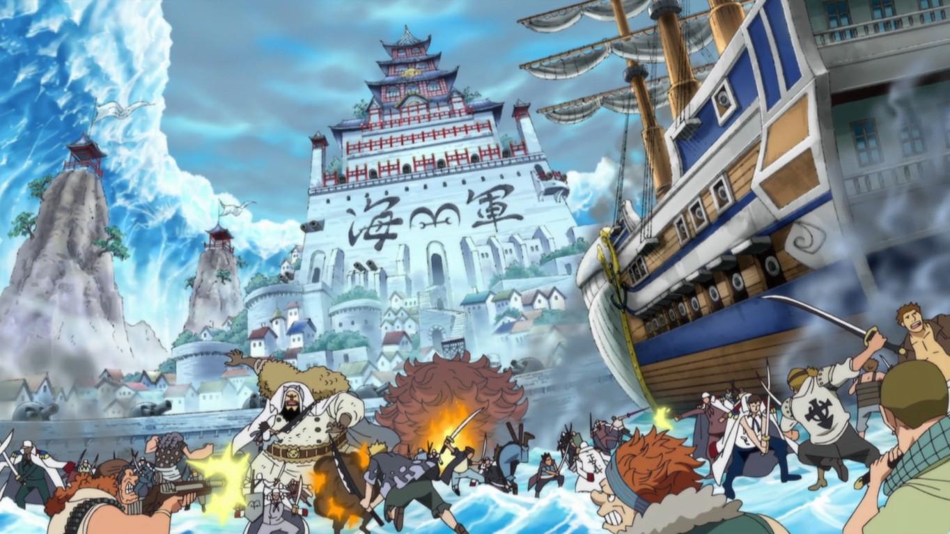 6 Main Arc dari One Piece Pra-Time Skip 8