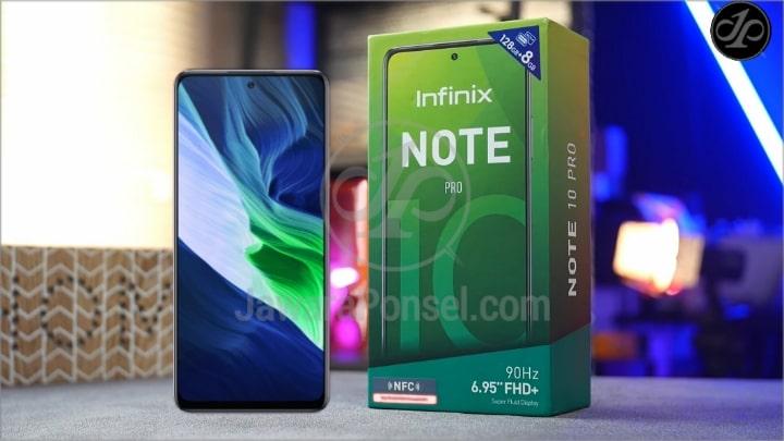Spesifikasi Infinix Note 10 Pro NFC Khusus Game 4