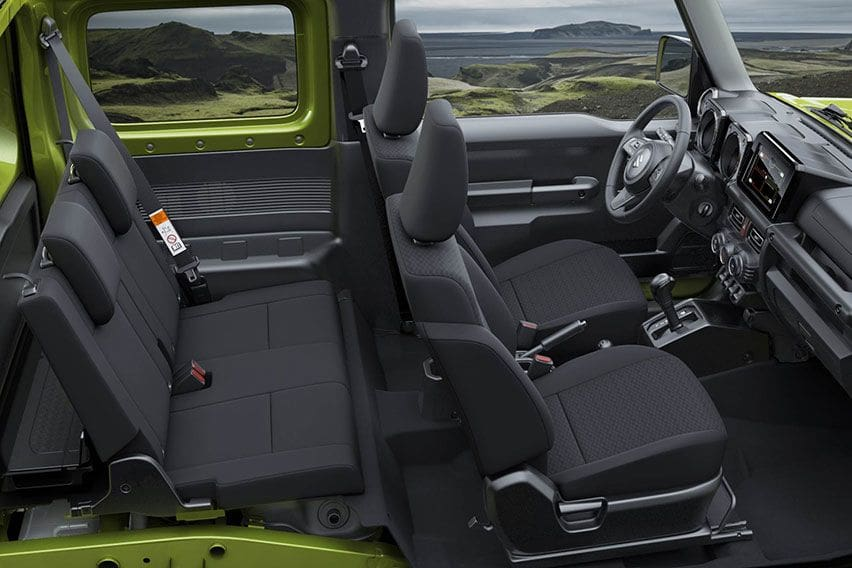 Mengenal Jeep Suzuki Jimny Corsica 5-Pintu 4