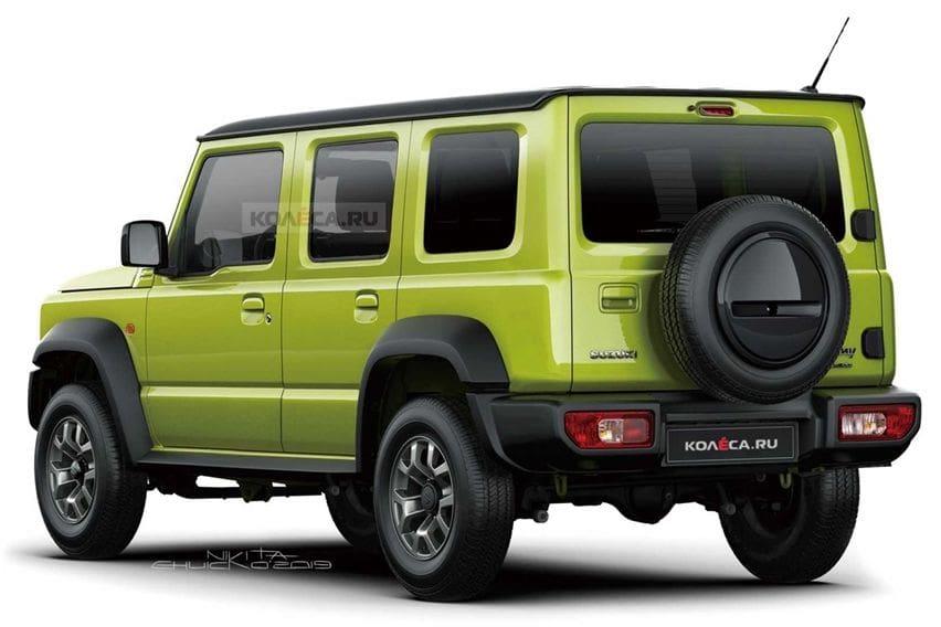 Mengenal Jeep Suzuki Jimny Corsica 5-Pintu 6