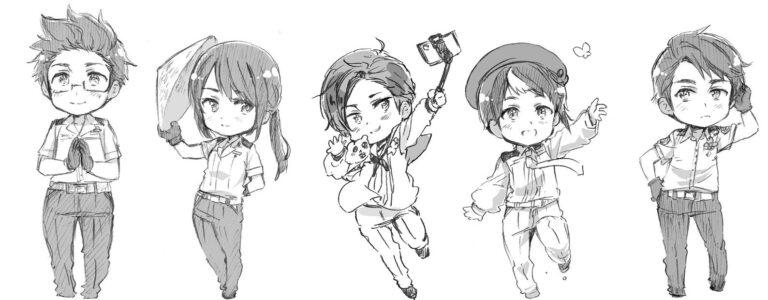 6 Negara ASEAN Berdasarkan Manga Hetalia World★Stars 1