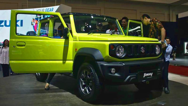Mengenal Jeep Suzuki Jimny Corsica 5-Pintu 5